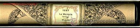 Instrumentos musicales: LA WALKYRIA: De WAGNER. Rollo de pianola. - Foto 2 - 27787571